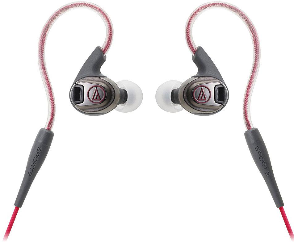 Audio-Technica ATH-SPORT3 RD - спортивные наушники (Red)