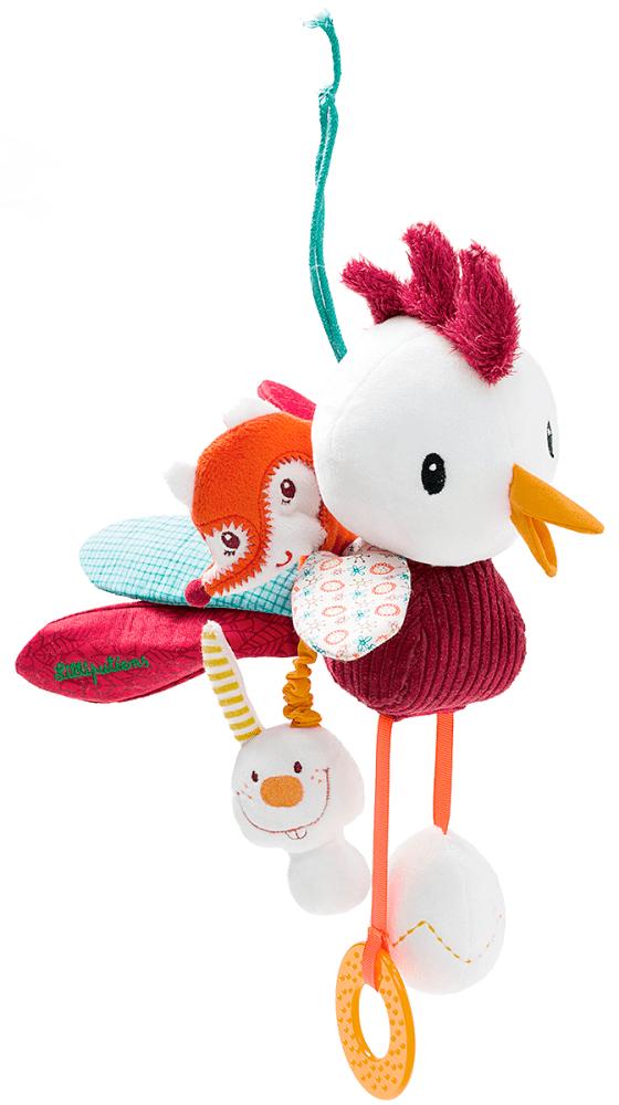 Lilliputiens Петушок Джон: развивающая игрушка (86613)