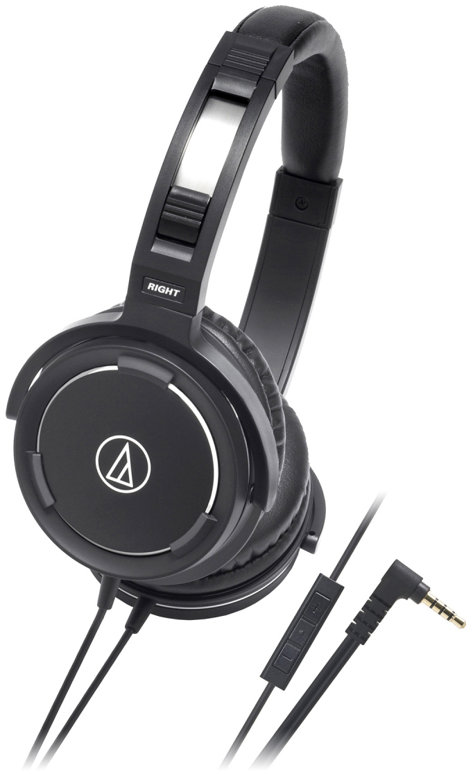 Audio-Technica ATH-WS55i - полноразмерные наушники (Black)