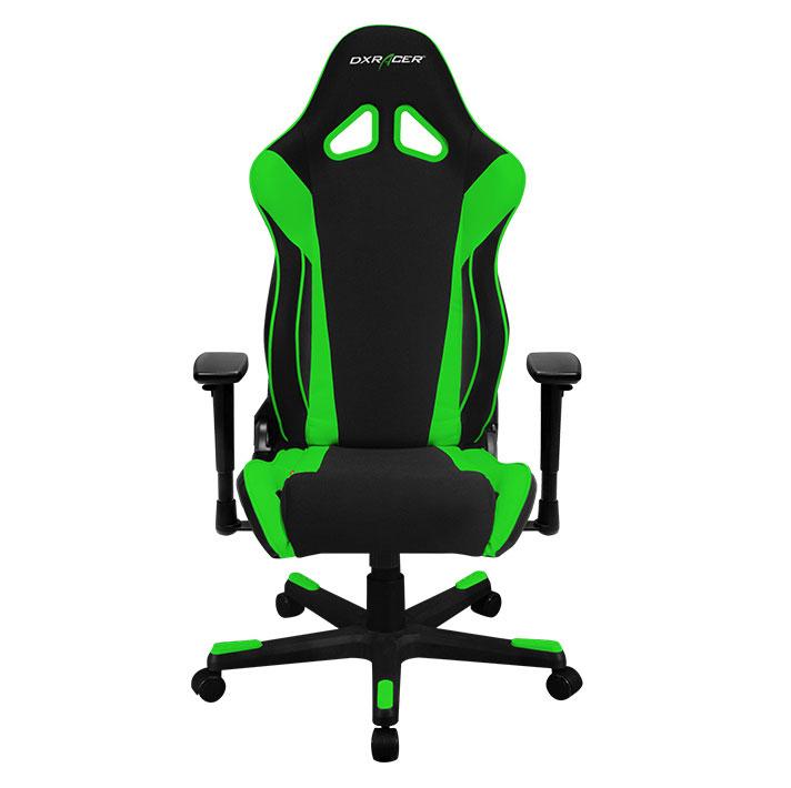DXRacer OH/RW106/NE - компьютерное кресло (Black/Green)