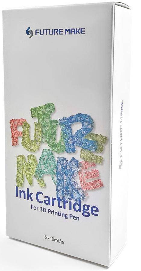 Polyes PS Mix B (PSMXB) - картриджи для 3D-ручки, 5 цветов