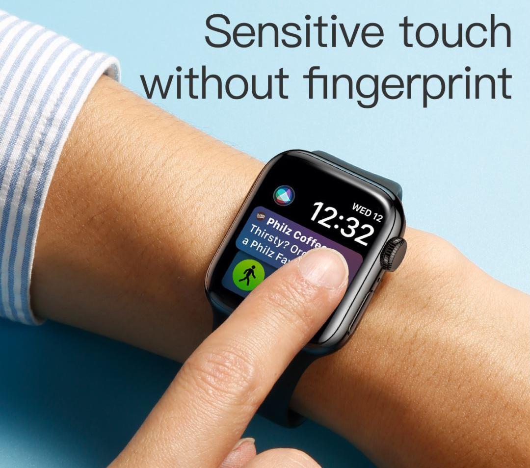 Защитное стекло Baseus Curved Tempered Glass (SGAPWA4-C01) для Apple Watch series 1/2/3 38mm (Black)