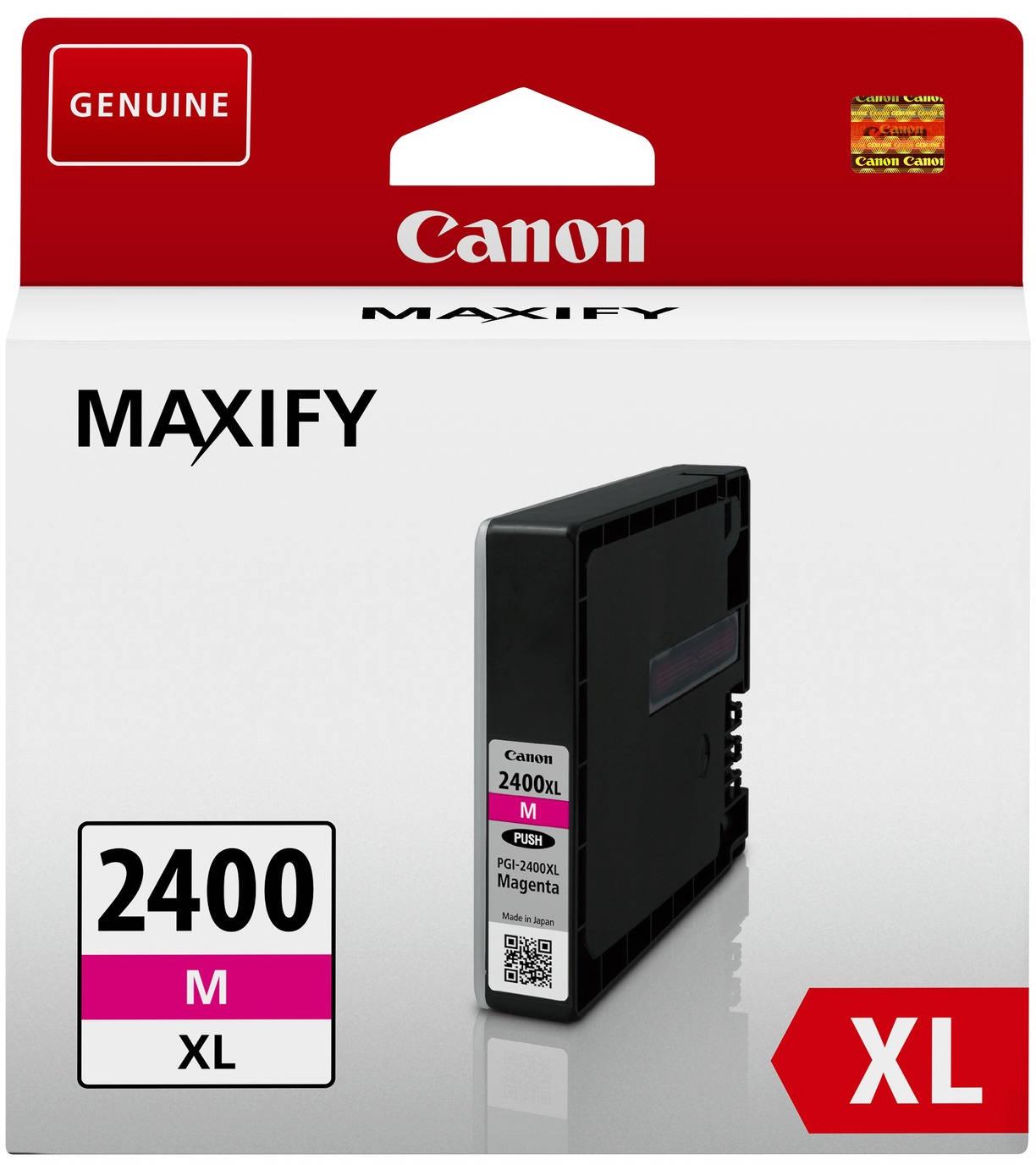 Canon PGI-2400XL (9275B001) - картридж для принтеров Canon Maxify MB5040/MB5340/IB4040 (Magenta)