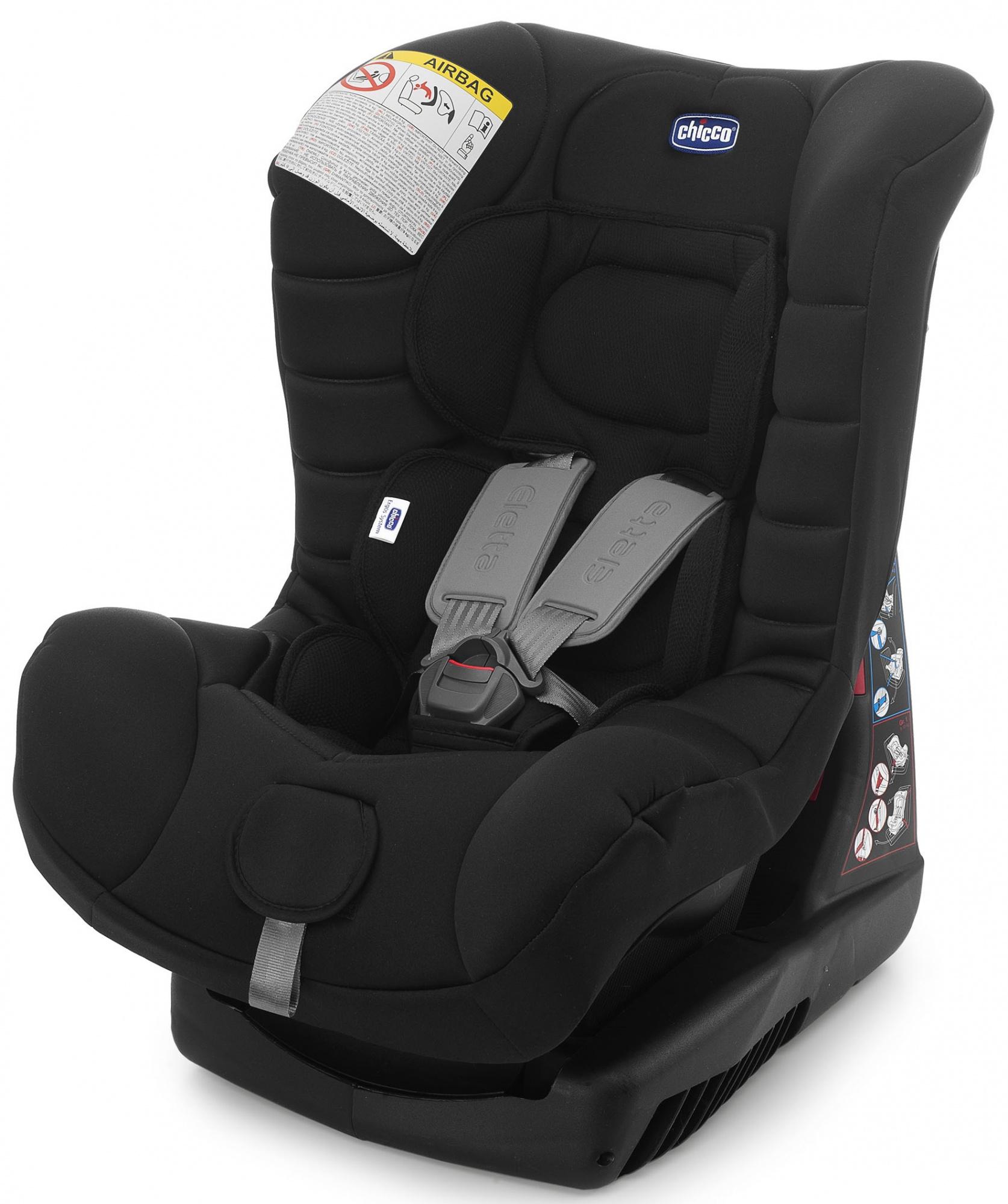Chicco Eletta (04CO1249bl) - автокресло 0+/1 (Comfort Black)