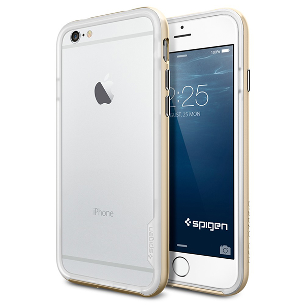 Купить Spigen Neo Hybrid EX (SGP11028) - бампер для iPhone 6/6S (Champagne Gold)