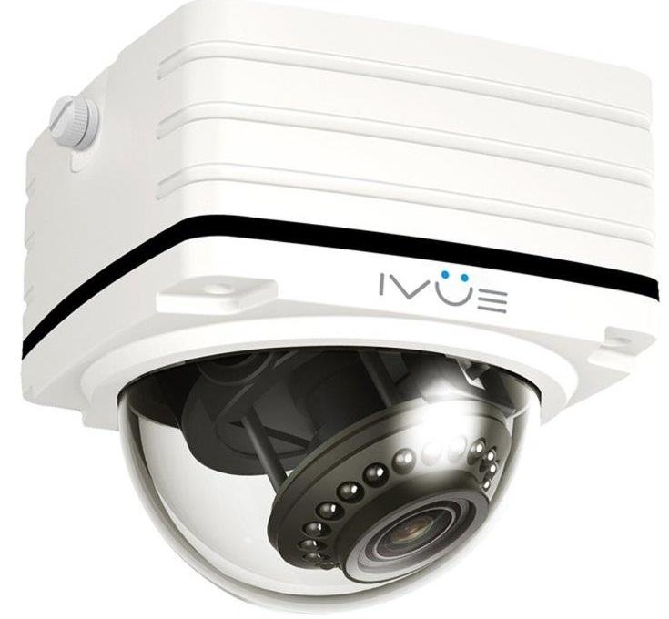 iVue NV-431-P - накладная IP-камера (White)Камеры видеонаблюдения<br>Накладная квадратная IP-камера<br>