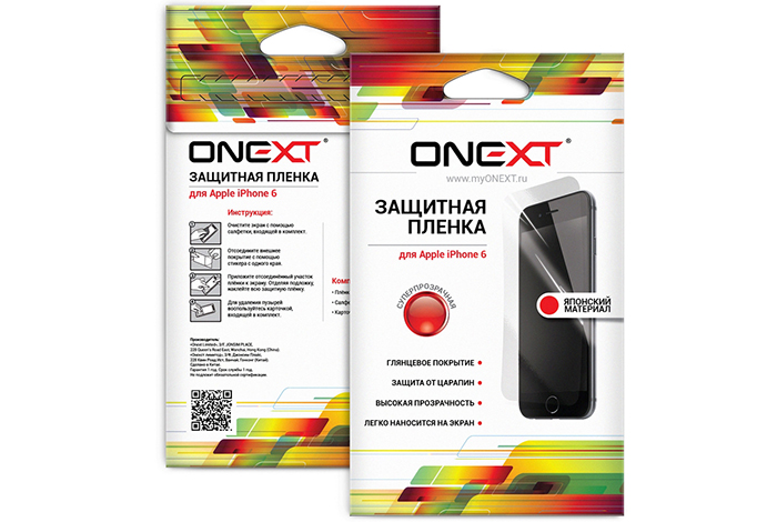 Onext 40773 - защитная пленка для iPhone 6/6S