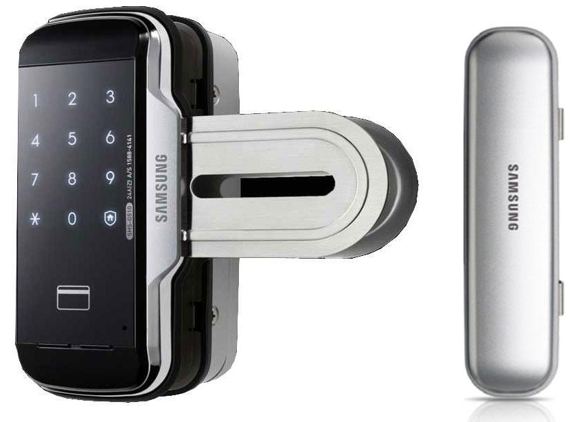 "Samsung SHS-G517+ASR-200Х - комплект ""стекло/стекло"" для стеклянных дверей (Black)"