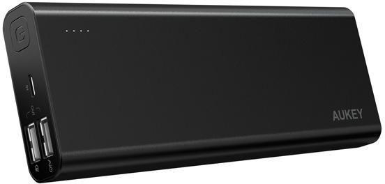 Aukey PB-AT20 20100 mAh - внешний аккумулятор (Black) аккумулятор digicare hydra dc8 8000 mah black yellow pb hdc8y