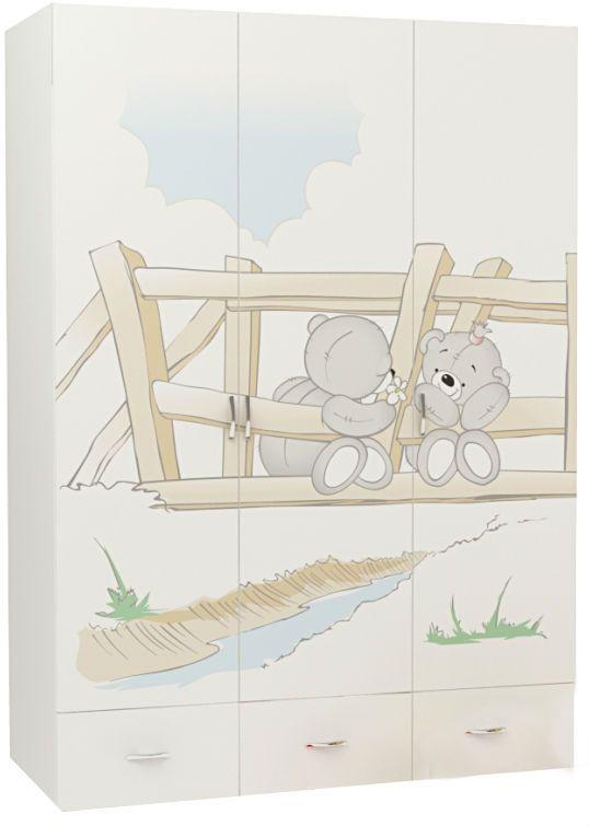 BearsТрехдверные шкафы<br>Шкаф 3-х дверный<br>