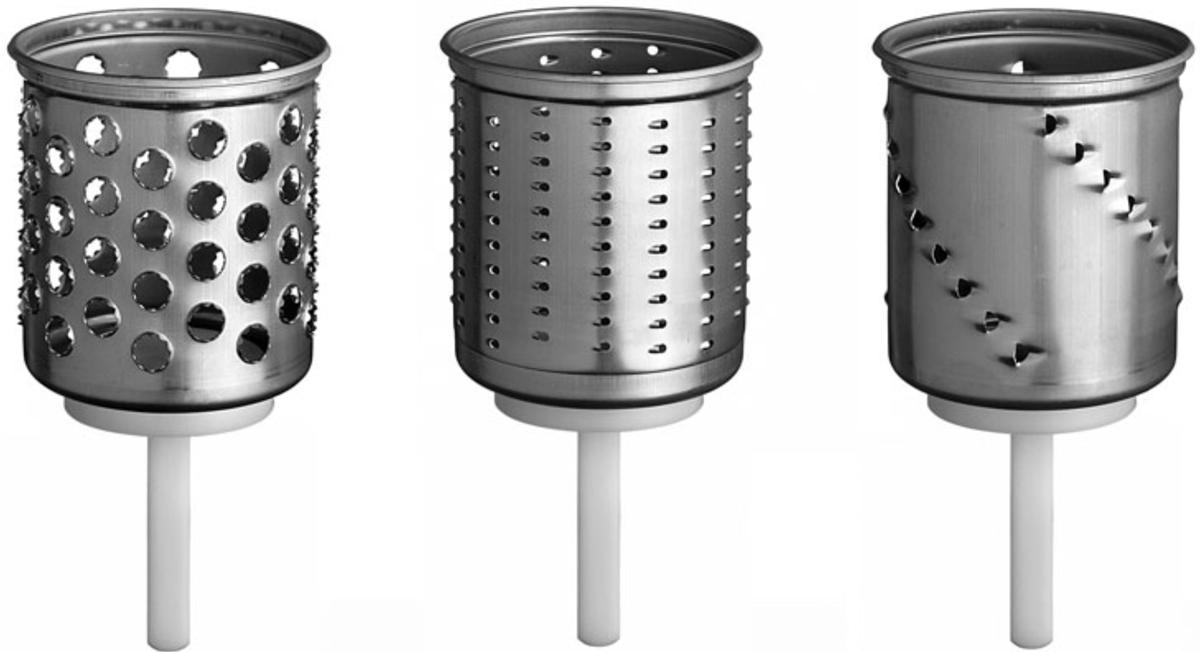 KitchenAid (EMVSC) - ножи-барабаны для овощерезки (Aluminum)Аксессуары к кухонной технике<br>Ножи-барабаны для овощерезки<br>