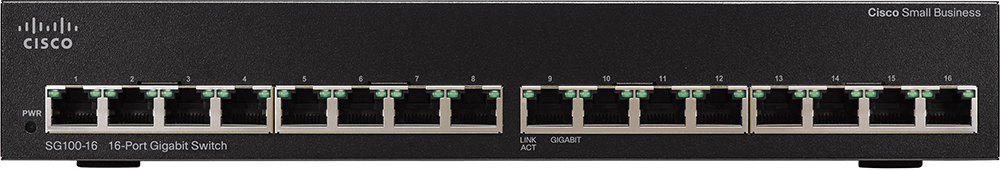 Cisco SG100-16 16-Port Gigabit Switch