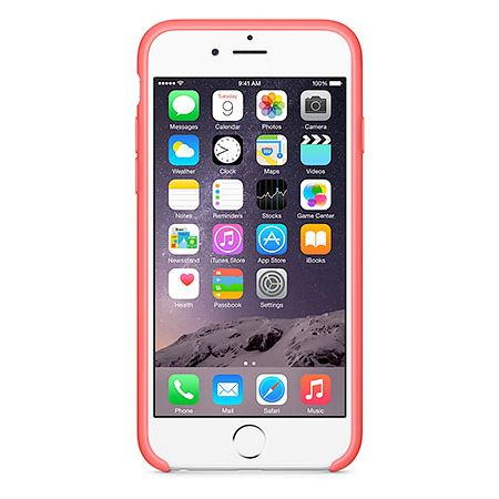 iPhone 6 Silicone Case (MGXT2ZM/A) - чехол для iPhone 6 (Pink)