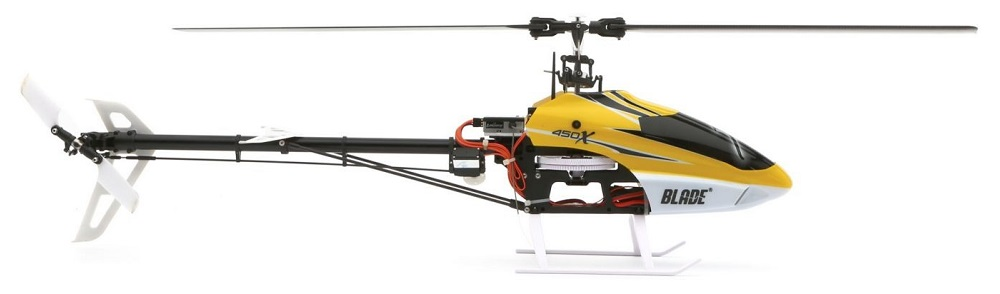 Blade 450 X (BLH1900) - радиоуправляемый вертолет (Yellow)