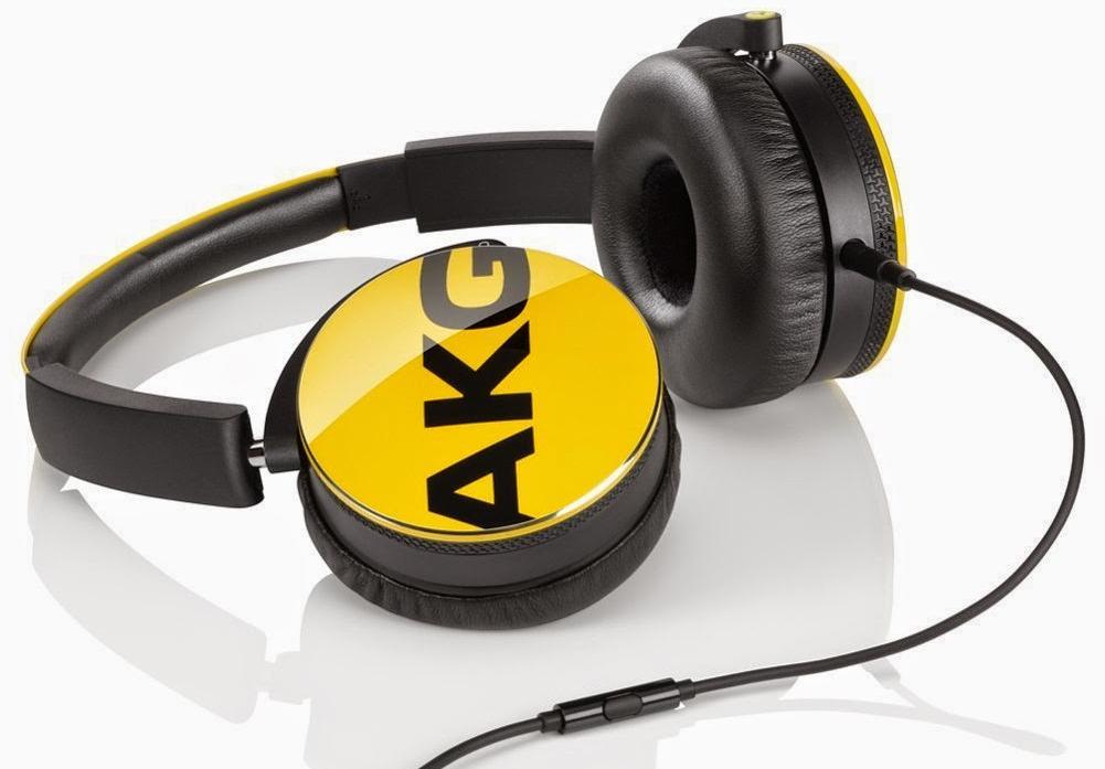 AKG Y50 YEL - накладные наушники с микрофоном (Yellow)