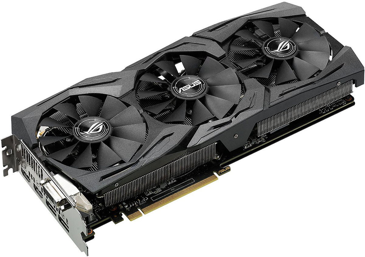 Asus Strix-GTX1060-6G-Gaming NV - видеокарта (Black)