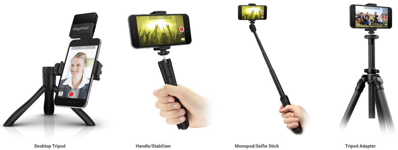 Монопод IK Multimedia iKlip Grip (Black)