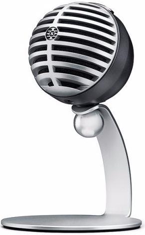 Shure MV5 - конденсаторный микрофон (Black/Silver) A060111