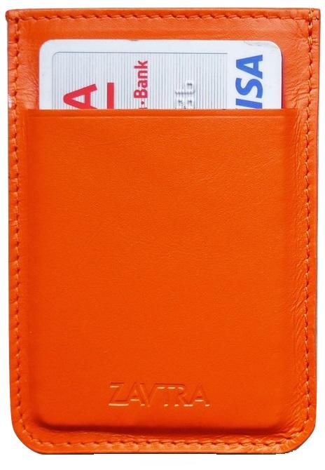 Zavtra - минималистичный кошелек (Orange) от iCover