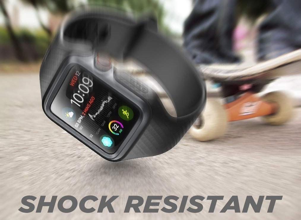 Чехол-ремешок Clayco Hera Series для Apple Watch Series 4 40mm (Black)