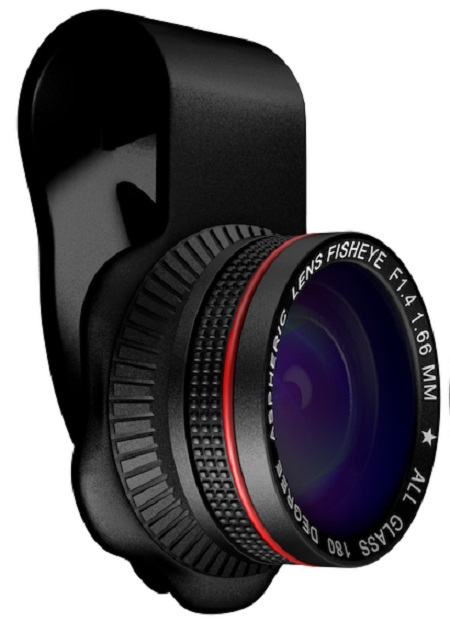 Mixberry SelfieMania Fisheye Lens Extra Wide MSM LS 180F