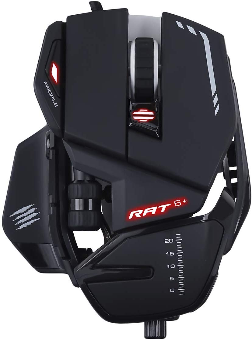 Игровая мышь Mad Catz R.A.T. 6+ (Black) фото