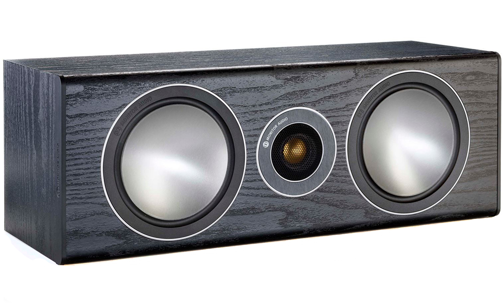 Monitor Audio Bronze Centre - акустическая система центрального канала (Black Oak)
