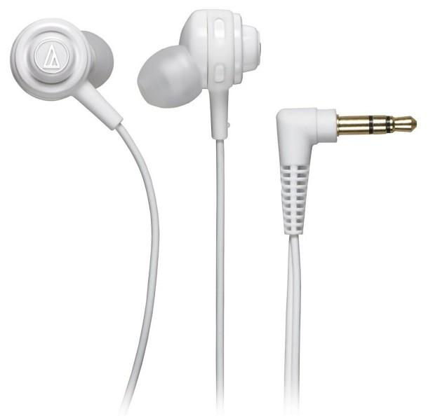 Audio-Technica ATH-COR150 - внутриканальные наушники (White) внутриканальные наушники audio technica ath sport1is pink