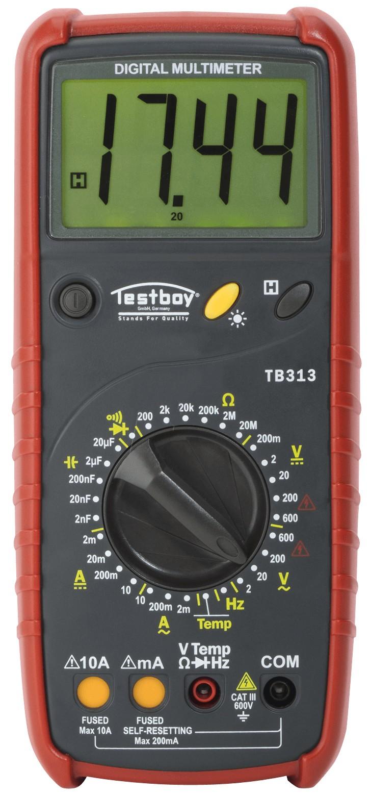 Testboy 313 - цифровой мультиметр (Red)