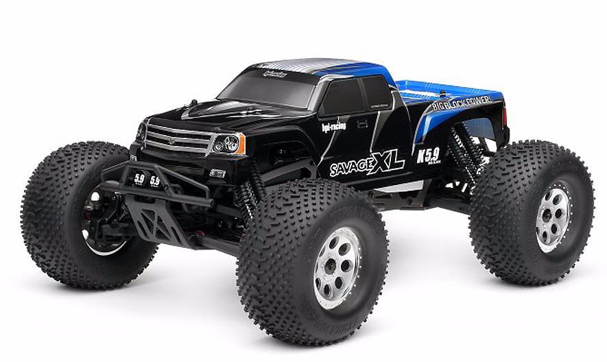 HPI Savage XL 5.9 GT Gigante 1:8 - радиоуправляемый автомобиль (Black)