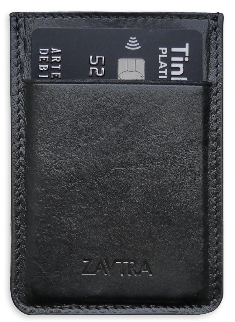 Zavtra - минималистичный кошелек (Black) от iCover