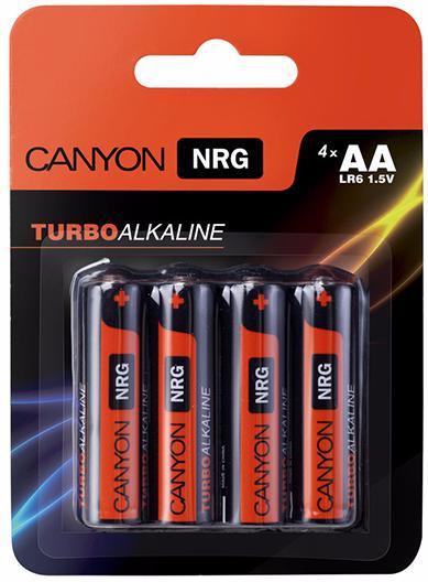 Canyon NRG AA Battery Pack 4pcs (ALKAA4) - комплект батареек
