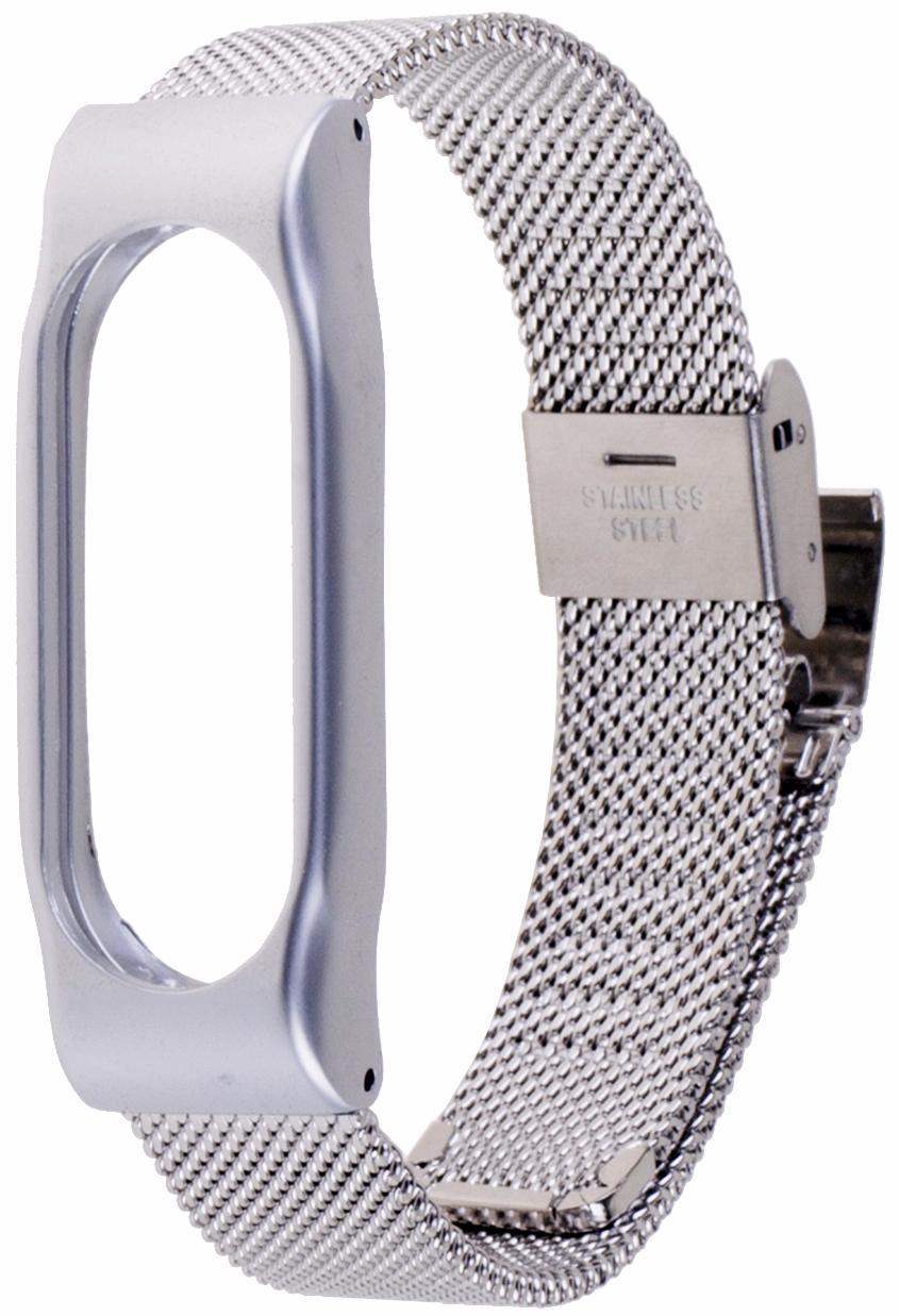 Xiaomi Milanese Metal Wristband - сменный ремешок для Xiaomi Mi Band 2 (Silver)