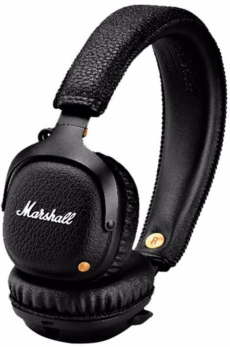 Marshall Mid - беспроводные наушники с микрофоном (Black)