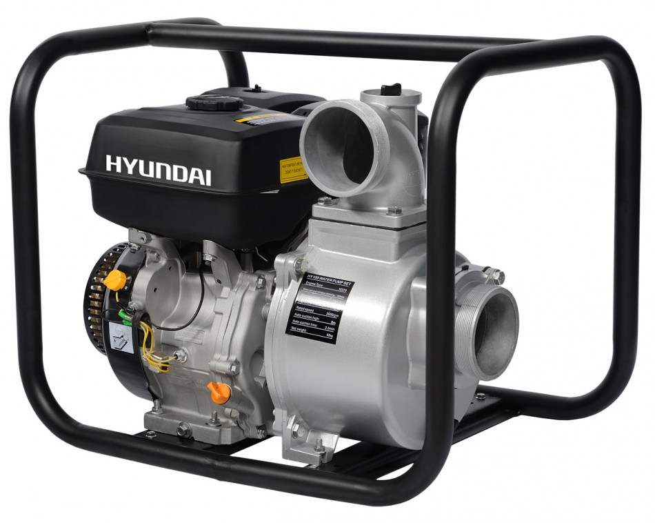 Hyundai HY 100 - бензиновая мотопомпа