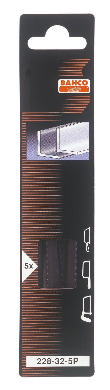 Bahco 228-32-5P - полотно для лобзика 150 мм от iCover