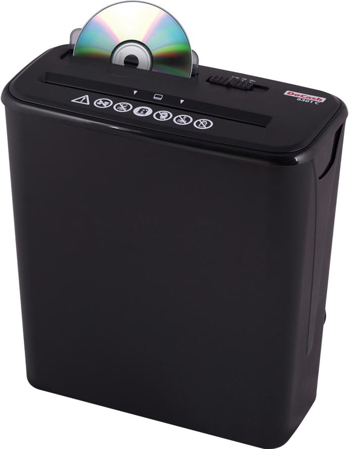 DoCash 6301 C (9349) - шредер (Black)
