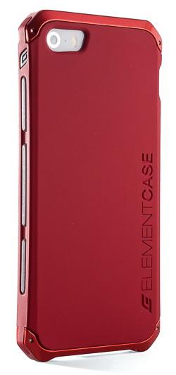 Element Case Solace Chroma (API5-1411-RR00) - чехол для iPhone 5/5S (Red)Чехлы-накладки для смартфонов<br>- Тонкий эргономичный дизайн <br><br> - Выполнен из авиационного алюминия и поликарбоната <br><br> - Сборная конструкция <br><br> - Ударопрочный корпус <br><br> - Специальная отвертка для быстрой сборки в комплекте <br><br> - Дизайн разработан в Калифорнии<br>