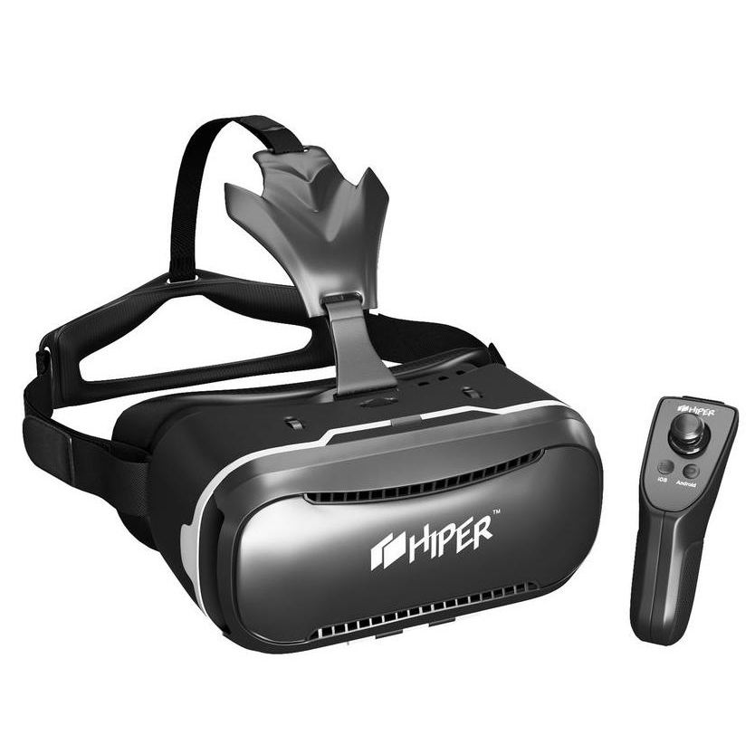 hiper Очки виртуальной реальности Hiper VRQ+ (Black) VRQ+