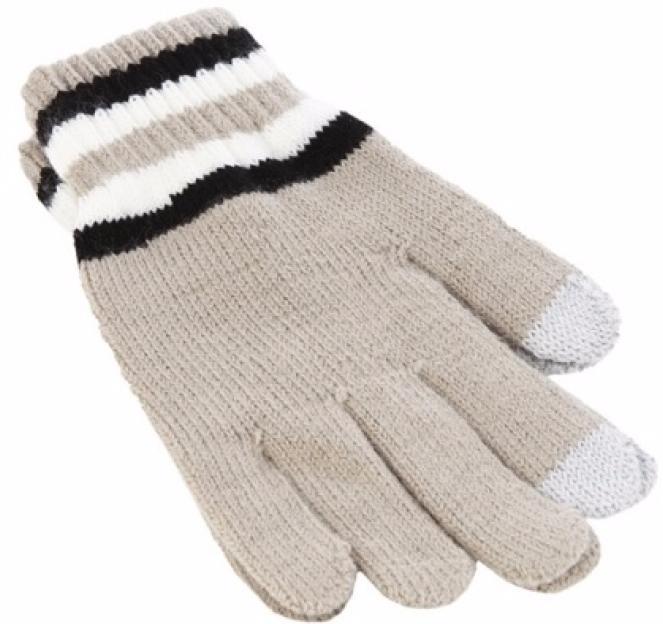 iCasemore Gloves (iCM_3S-kh) - трикотажные перчатки (Khaki) icasemore gloves icm smp blk кашемировые перчатки black