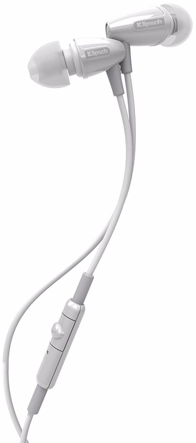Klipsch S3m (1016214) - внутриканальные наушники с микрофоном (White)