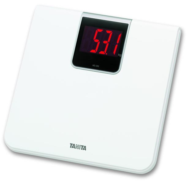 Tanita HD-395 - напольные весы (White)