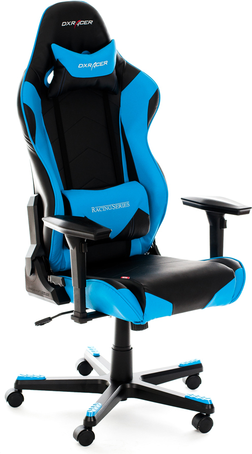 DXRacer OH/RE0/NB - компьютерное кресло (Blue)