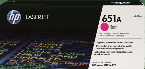 HP 651A (CE343A) - картридж для принтера HP LaserJet (Magenta)
