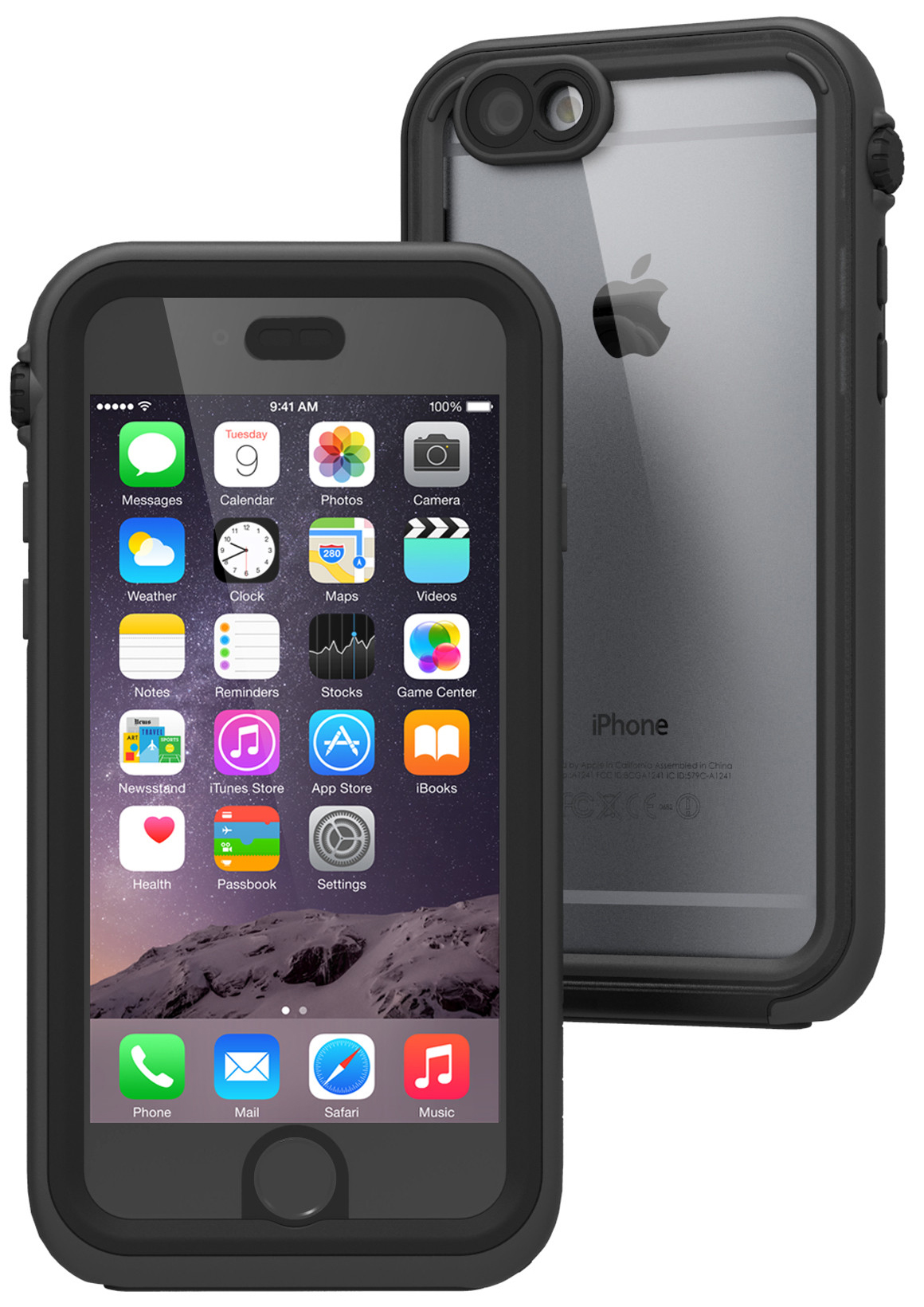 Catalyst Waterproof (CATIPHO6BLK) - водонепроницаемый чехол для iPhone 6 и iPhone 6S (Black/Space Gray)