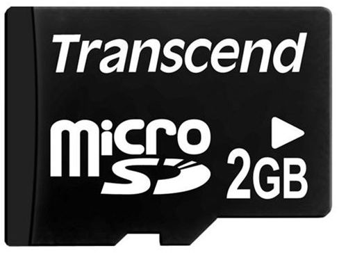 Transcend microSD 2Gb (TS2GUSDC) - карта памяти (Black) transcend ts32gmts400