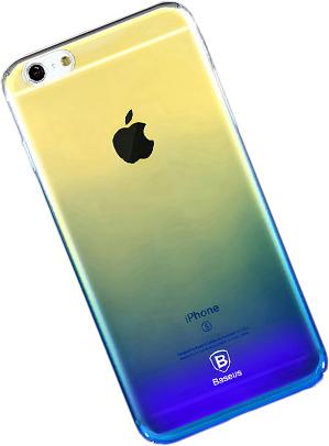 Baseus Polychrome Case (WIAPIPH7-LC15) - накладка для iPhone 7 (Blue)