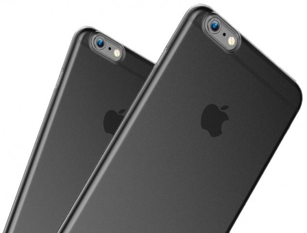 Baseus Wing Case (WIAPIPH6SP-E01) - чехол-накладка для iPhone 6/6S Plus (Transparent Black)