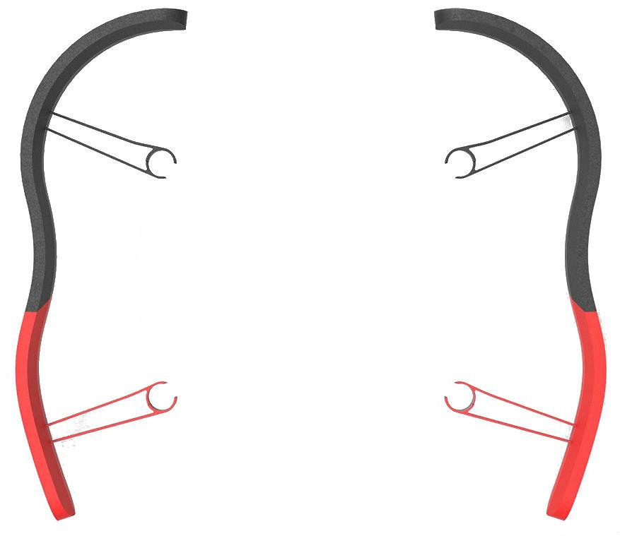 Parrot EPP Bumper - защитный бампер для Bebop Drone (Red)