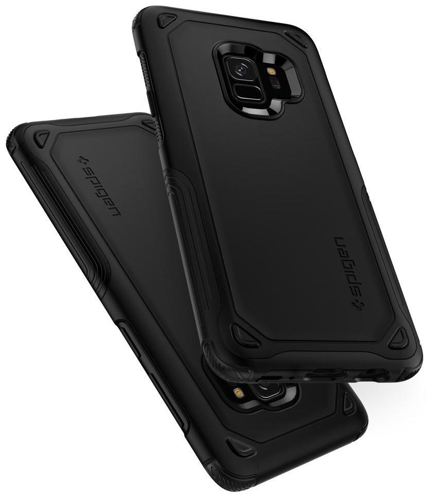 Чехол Spigen Hybrid Armor (592CS22842) для Samsung Galaxy S9 (Black)
